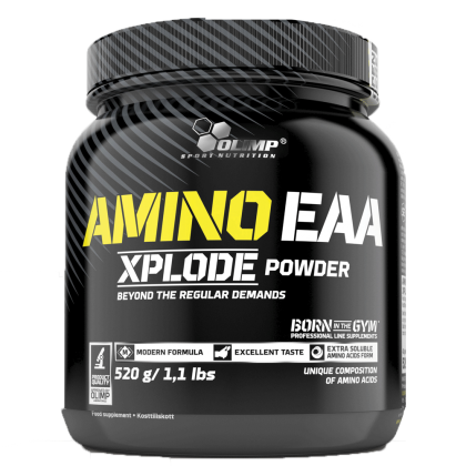 BCAA XPLODE ENERGY - 500g FRUIT PUNCH